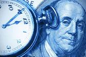 Rachunkowości, podwójny dźwięk — Zdjęcie stockowe