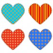 Vector hearts — Stock Vector #6312473