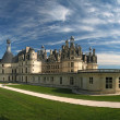 France. Chambord Castle on the Loire River. - Stock Photo