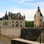 The Chateau de Chenonceau. Loire Valley — Stock Photo