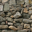 Stone rock wall — Stock Photo