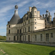 Stock Photo: Chambord Castle on Loire River. France.