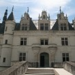 The Chateau de Chenonceau. Loire Valley - Stock Photo