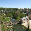 Stock Photo: View from Corniche. Best balcony in Europe. Luxembourg.