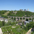 Clausen Viaduct, Luxembourg - Stock Photo