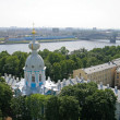 Bird's-eye view of St. Petersburg — Stock Photo