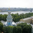 Bird's-eye view of St. Petersburg — Stock Photo #5626085