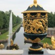 The Vase and Sampson Fountain, Grand cascade, Peterhof — Stock Photo