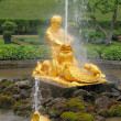 Triton fountain, Peterhof — Stock Photo