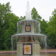 The Roman Fountain. Peterhof (Petrodvorets) — Stock Photo