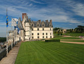 The chateau of Amboise in the Loire valley — Stock Photo