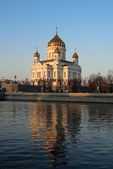 Cathedral of Christ the Saviour, Moscow, Russia — Stock Photo