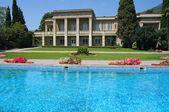 Luxury Home Pool — Stock Photo