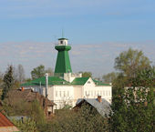 Fire lookout tower. Suzdal. — Stock Photo