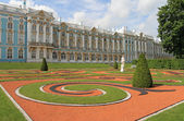 Catherine Palace, Tsarskoye Selo (Pushkin), St. Petersburg, Russ — Stock Photo
