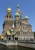 Church of the Savior on Blood. St. Petersburg, Russia. — Stock Photo