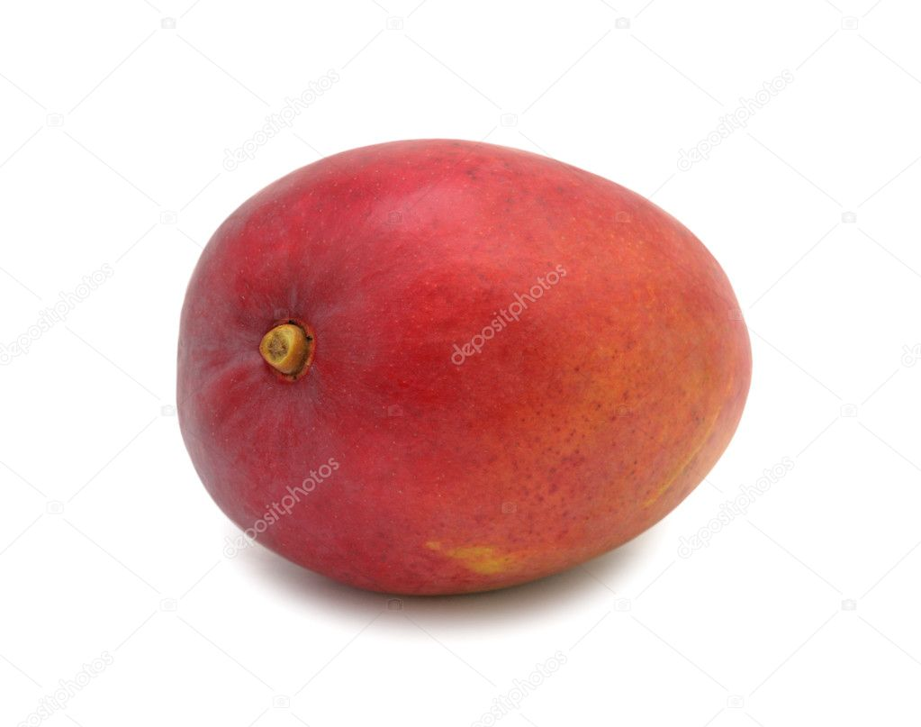 Mango, isolated on a white background — Stock Photo #5627313