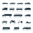 Royalty-Free Stock Vector Image: Icon Vehicles vector