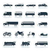 Icon Vehicles vector — Stockvektor