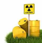 Radioactive Landfill — Stock Photo