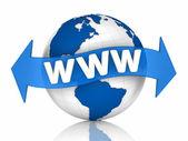 World WWW — Stock Photo