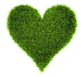Grass Heart — Stock Photo