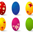 Easter eggs — Stock Vector #5426089
