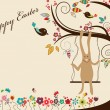 Easter greeting card — Stock Vector #5426098