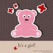 Baby shower — Vector de stock  #5679762