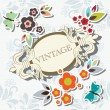 Floral frame — Stock Vector #5963420