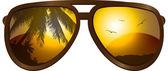 Sunglasses — Stock Vector