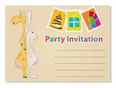 Party invitation — Stock Vector