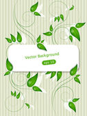Green plants — Stock Vector
