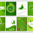 Stock Vector: Bio design