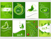 Bio design — Vector de stock