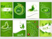 Bio diseño — Vector de stock