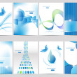 Royalty-Free Stock Vector Image: Brochure design