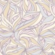 Seamless decorative pattern — Stok Vektör