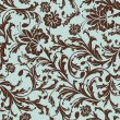 Seamless floral pattern - Imagen vectorial