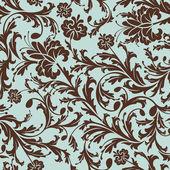 απρόσκοπτη floral μοτίβο — Διανυσματικό Αρχείο