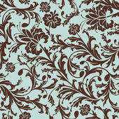 Seamless floral pattern — Vecteur