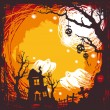 Halloween background — Stock Vector #6427765
