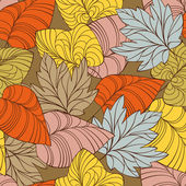 Autumn seamless background — Vecteur