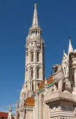 Matthias Church in Budapest — 图库照片