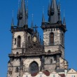 Stock Photo: Tyn Church in Prague in Czech