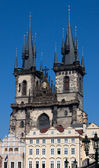 Tyn Church in Prague in Czech — Stock Photo
