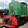 Diesel engine - the locomotive — Stock Photo