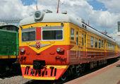 Vznětový motor - lokomotiva — Stock fotografie