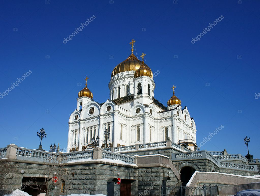 Cathedral of Christ the Saviour                       — Stock Photo #6245627