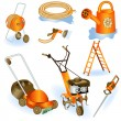 Royalty-Free Stock Vector Image: Garden tools 2